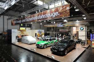 BMW at the GPEC 2012 (General Police Equipment Exhibition and Conference) -  (09/2012)