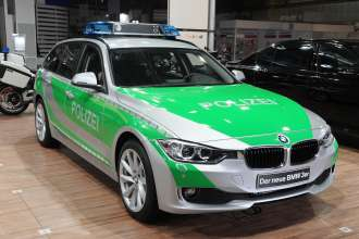 The new BMW 3 Series Touring Police Vehicle at the GPEC 2012  (09/2012)