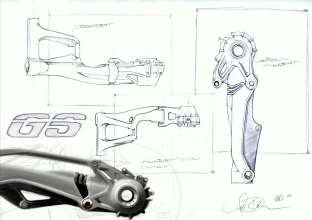 BMW R 1200 GS, design sketch (10/2012)