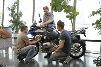 BMW R 1200 GS, design process (10/2012)