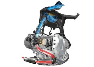 BMW R 1200 GS, vertical flow (10/2012)