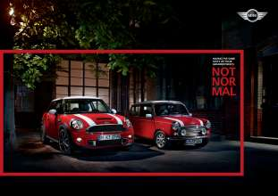 Print advert. MINI Brand campaign