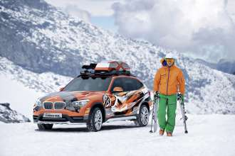 The BMW Concept K2 Powder Ride. (10/2012)