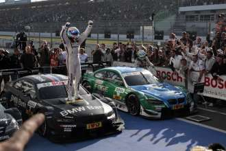 Hockenheim 21th October 2012. BMW Motorsport, Winner and DTM Champion Bruno Spengler (CA), BMW Team Schnitzer. This image is copyright free for editorial use © BMW AG (10/2012).