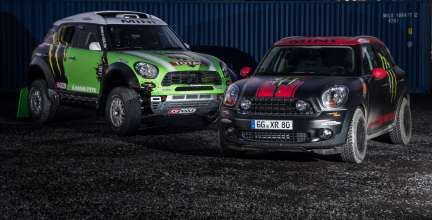 MINI ALL4 Racing and MINI Countryman X-raid service vehicle (11/2012)