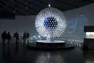 "OSRAM ""Dandelion"" in the BMW Museum (11/2012)"