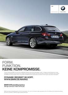 Auto Trophy 2012, Printing Campaign BMW 5 Series Touring, Best Advertising (11/2012)