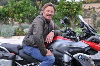 Charley Boorman Jury Member ONE WORLD. ONE R 1200 GS. THE RIDE OF YOUR LIFE. BMW Motorrad. (11/12)
