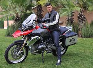 Rick Yune Jury Member ONE WORLD. ONE R 1200 GS. THE RIDE OF YOUR LIFE. BMW Motorrad. (11/12)