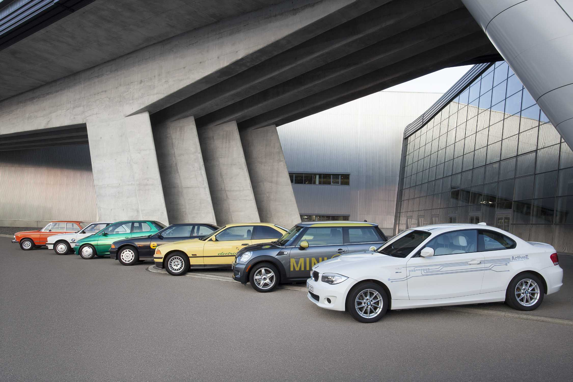 40 Years Of Electric Mobility At The Bmw Group From 1602 To I3
