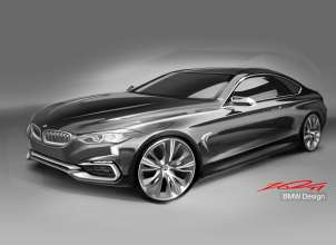 BMW Concept 4 Series Coupé design sketch (11/2012)