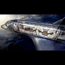BMW Group DesignworksUSA redefines air travel with Embraer Legacy interior and cockpit design. (12/2012)