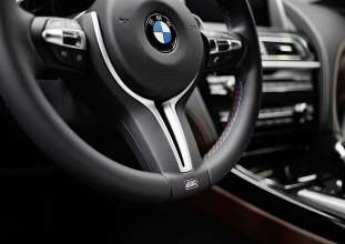 BMW M6 Gran Coupe Interior. (12/2012)