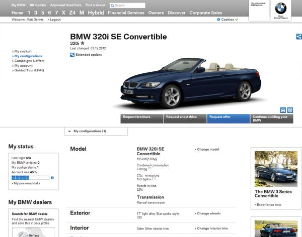 Bmw Sets Milestone In Interactive Customer Communications Re Launch Of The Bmw Website Www Bmw De