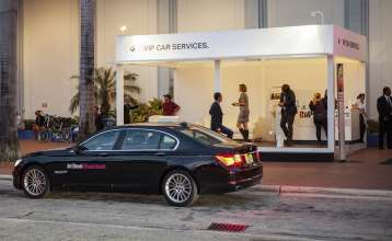 BMW at Art Basel Miami Beach 2012 on Wednesday, December 5th. (Vanessa Rogers/newscast)