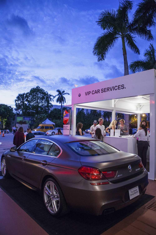 BMW als Partner auf der Art Basel in Miami Beach 2015. Präsentation ...