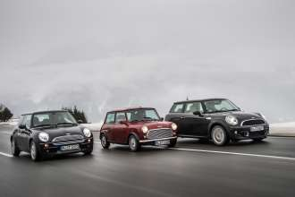 Three generations of driving fun. (02/2013)