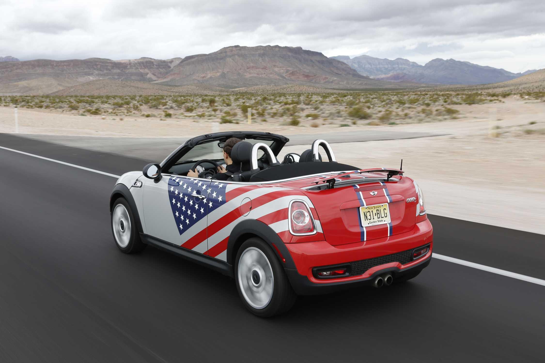 Mini Cooper S Roadster Usa 012013