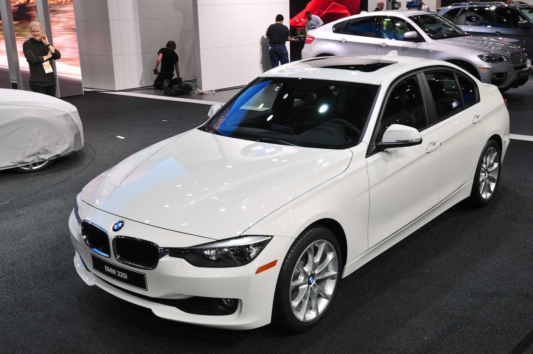 The New BMW 320i Sedan