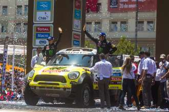 Monster Energy X-raid Team Dakar 2013. (01/2013)