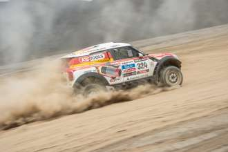 MINI ALL4 Racing Dakar 2013. (1/2013)