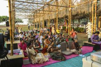 Impressions of the BMW Guggenheim Lab Mumbai, December 9, 2012 to January 20, 2013