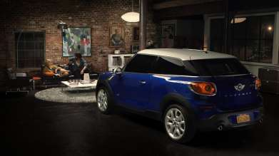 MINI Paceman Campaign (January 2013)
