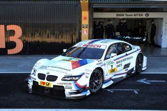 Valencia (ES) 24th January 2013. BMW Motorsport, Thomas Biagi (IT) on Martin Tomczyk`s BMW M Performance Parts M3 DTM. This image is copyright free for editorial use © BMW AG (01/2013).