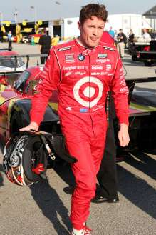Racer Scott Dixon qualifies in 2nd position for the 51st running of the Rolex 24 At Daytona. (01/2013)