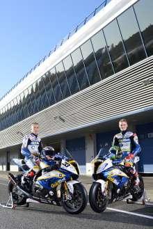 BMW Motorrad GoldBet SBK Team - Factory Riders - Marco Melandri # 33 & Chaz Davies # 19