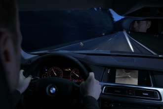 BMW Connected Drive: Night Vision with Dynamic Light Spot and Animal Recognition  (02/2013)