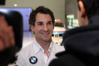 Munich (DE) 29th January 2013. BMW Motorsport, BMW Museum, Timo Glock (DE) BMW Works Driver TV Interwiev. This image is copyright free for editorial use © BMW AG (01/2013).