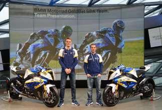 BMW Motorrad GoldBet SBK Team Launch - Factory Riders, Chaz Davies #19 and Marco Melandri #33