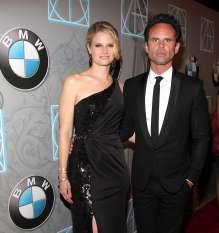 BEVERLY HILLS, CA - FEBRUARY 02: (L-R) Joelle Carter and Walter Goggins arrive to the 17th Annual Art Directors Guild Awards For Excellence In Production Design presented by BMW at The Beverly Hilton Hotel on February 2, 2013 in Beverly Hills, California.  (Photo by Jonathan Leibson/WireImage) *** Local Caption *** Joelle Carter; Walter Goggins (02/2013)