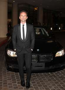 BEVERLY HILLS, CA - FEBRUARY 02: Walter Goggins arriving in a BMW 7 Series to the 17th Annual Art Directors Guild Awards For Excellence In Production Design presented by BMW at The Beverly Hilton Hotel on February 2, 2013 in Beverly Hills, California.  (Photo by Jonathan Leibson/WireImage) *** Local Caption *** Walter Goggins (02/2013)