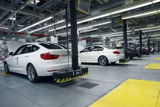 BMW plant Dingolfing, production, assembly finish (02/2013)