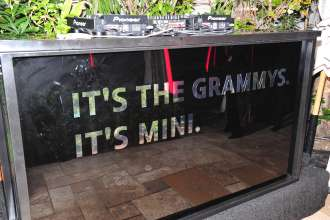MINI goes Grammy. After show party 2013. It's the Grammys It's MINI (02/2013)