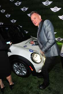 MINI goes Grammy. After show party 2013. Sting (02/2013)