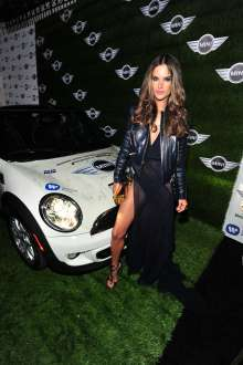 MINI goes Grammy. After show party 2013. Alessandra Ambrosio (02/2013)