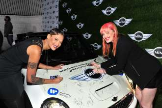 MINI goes Grammy. After show party 2013. Iconapop (02/2013)