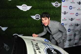 MINI goes Grammy. After show party 2013. Darren Criss (02/2013)