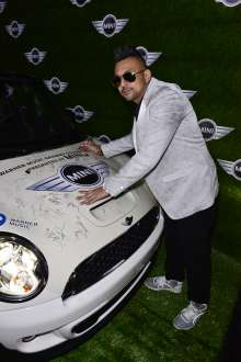 MINI goes Grammy. After show party 2013. Sean Paul (02/2013)