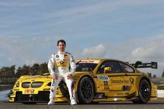 Jerez de la Frontera (ES) 11th February 2013. BMW Motorsport, Timo Glock (DE) Deutsche Post BMW M3 DTM. This image is copyright free for editorial use © BMW AG (02/2013).