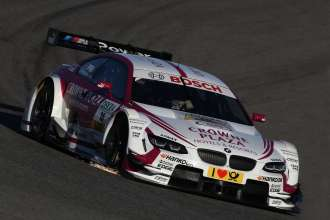 Jerez de la Frontera (ES) 14th February 2013. BMW Motorsport, Andy Priaulx`s Crowne Plaza BMW M3 DTM. This image is copyright free for editorial use © BMW AG (02/2013).