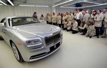 REVEAL OF ROLLS-ROYCE WRAITH AT THE HOME OF ROLLS-ROYCE MOTOR CARS, 2013