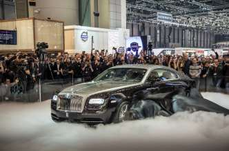 WORLD DEBUT OF ROLLS-ROYCE WRAITH AT GENEVA INTERNATIONAL MOTOR SHOW, 2013