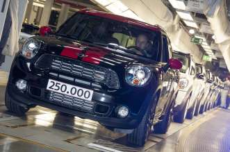 The 250,000th MINI Countryman - 12 March 2013. (03/2013)