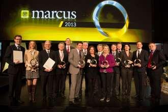 Marcus 2013, alle Preisträger (03/2013), Credit: ÖAMTC