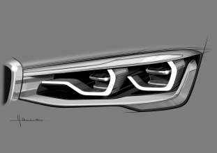 BMW Concept X4 - Design light (04/2013)