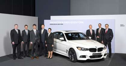 Annual Accounts Press Conference of BMW AG in Munich on 19 March 2013. The Board of Management of BMW AG.